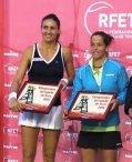 Arantxa Parra y Lourdes Domínguez campeonas de dobles en el torneo Mapfre Absoluto de la RFET